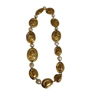 Vintage Oval Necklace-1