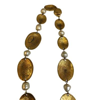 Vintage Oval Necklace-5