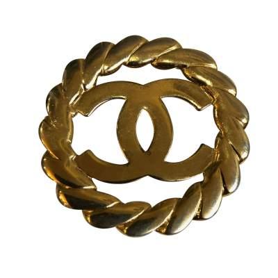 Vintage Gold Brooch-3