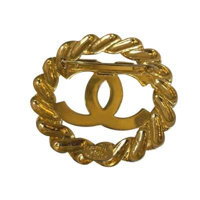Vintage Gold Brooch-5