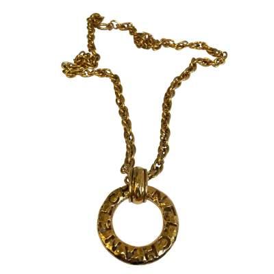 Vintage gold metal Necklace-0