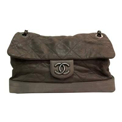 Shiny leather Bag-1