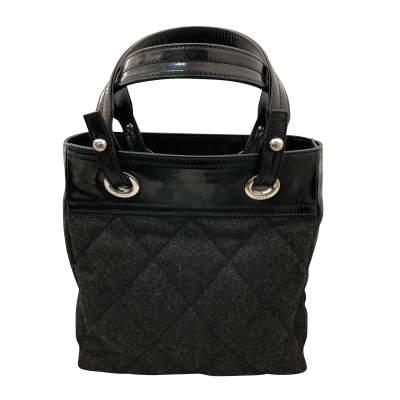 Charcoal gray shopping Bag-1