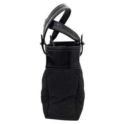 Charcoal gray shopping Bag-7