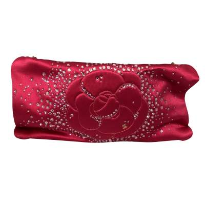 Satin rose Clutch-0