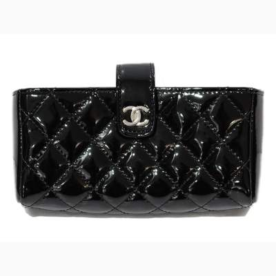 New black leather coin Purse-1