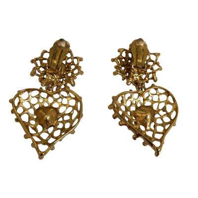 Vintage clip-on Earrings-3