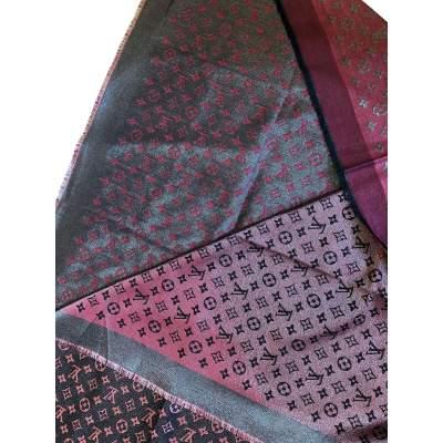 New burgundy Scarf-5