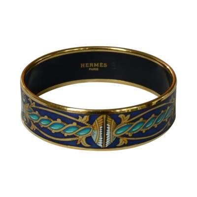 Printed Eameled Bracelet -0