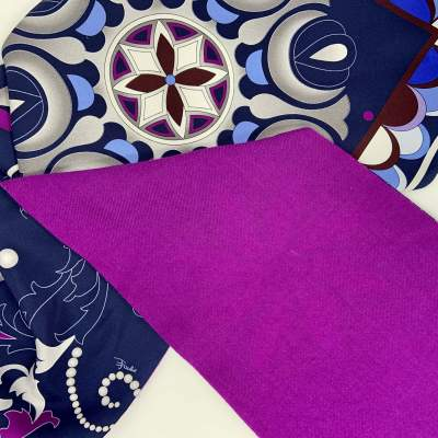 Silk & Wool Twilly Scarf-7
