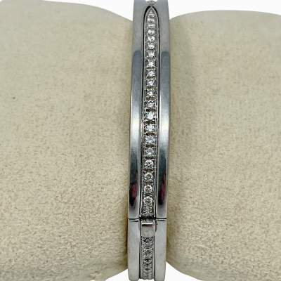Diamond B.Zero1 Bangle Bracelet-5