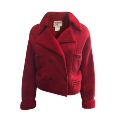 Leather and Sheepskin Jacket -0