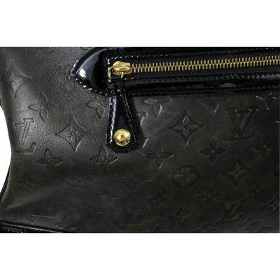 """Rare 2006 Lovely """"New Alizee"""" Bag in Monogram Embossed Leather-5"""