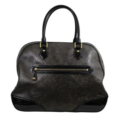 """Rare 2006 Lovely """"New Alizee"""" Bag in Monogram Embossed Leather-1"""