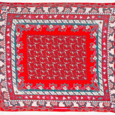 Rare Large Silk Hermes Schawl-0