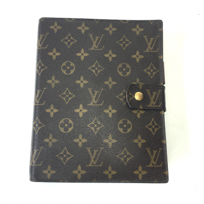 Large Monogram Agenda Cover-0