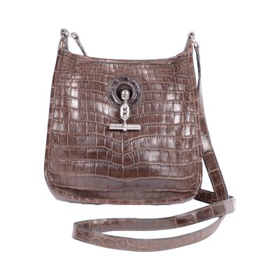 Crocodile Vespa shoulder Bag -0