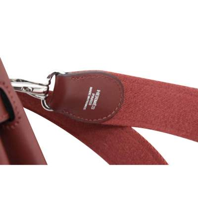 Berline Bag in burgundy swift Leather-7
