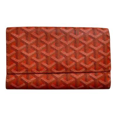 Classic orange Wallet-1