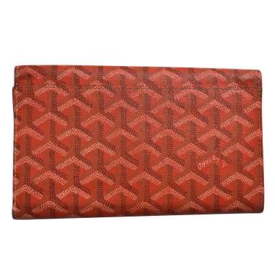 Classic orange Wallet-3