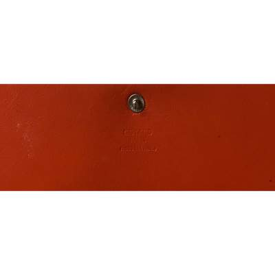 Classic orange Wallet-9
