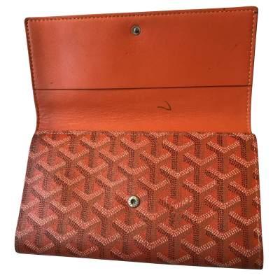Classic orange Wallet-5