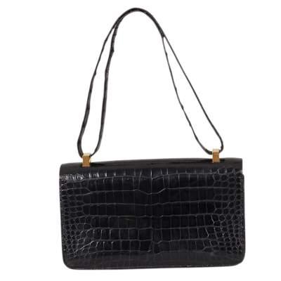 Vintage Crocodile Handbag-3