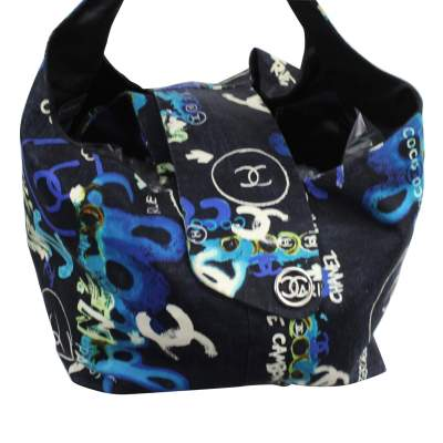 Canvas Bag in Grafitti Pattern-0