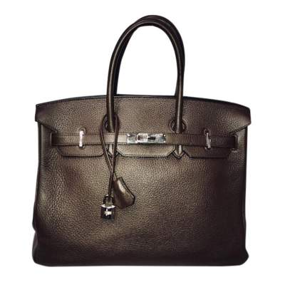 Brown Birkin 35 -0