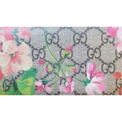 Monogram Floral Zip Wallet-7