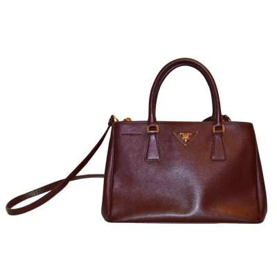 Burgundy Bag -0