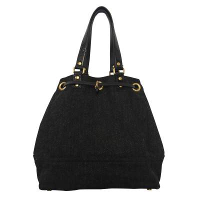 Wool and patent leather Bag -3