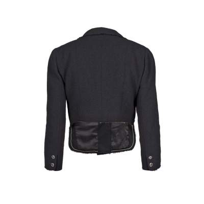 Different length wool Jacket -3