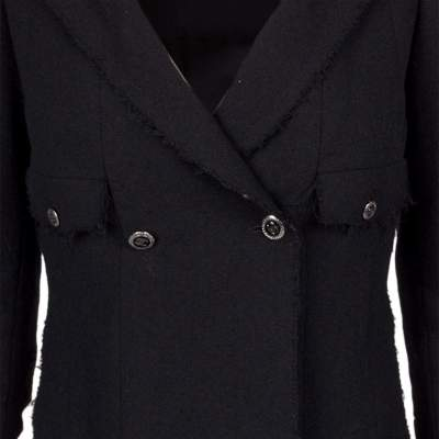 Different length wool Jacket -7