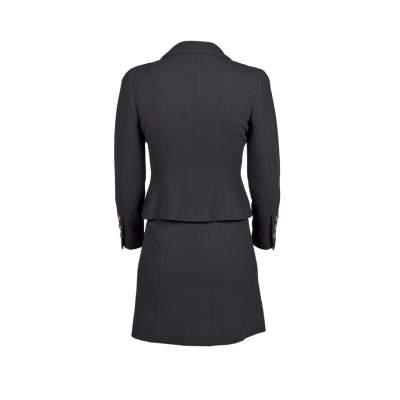 Tailored vintage wool Skirt -3