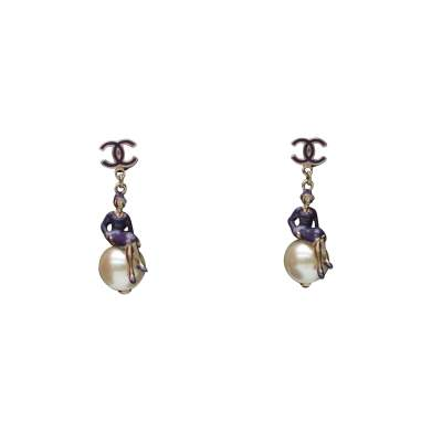 "Earrings for pierced ears ""Coco sur le monde"", 2004's-0"