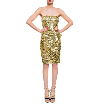 Bustier sequined Dress -7