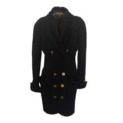 Vintage cross long jacket-0