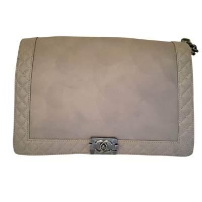Large Boy Grey Handbag-0