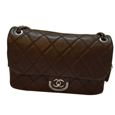 Brown chocolate Handbag-0