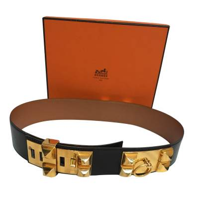 Black and gold Belt-0