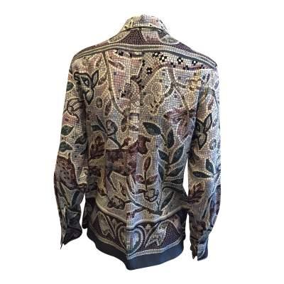 100% Silk Shirt -3