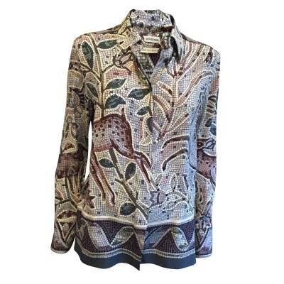 100% Silk Shirt -0