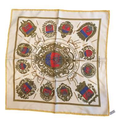 Small silk scarf-0