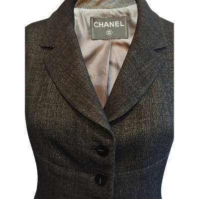 Short black and silver Jacket-5