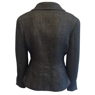 Short black and silver Jacket-3