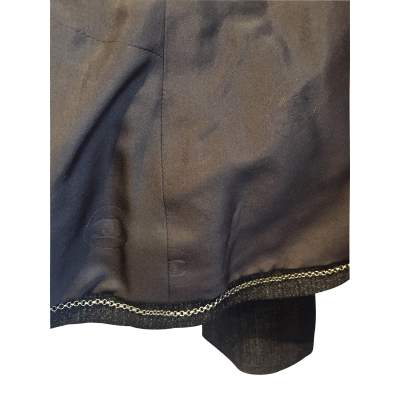 Short black and silver Jacket-7