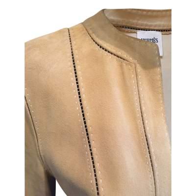 Open lambskin Jacket-5