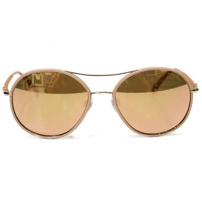 Oval copper Sunglasses-0