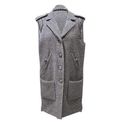 Sleeveless wool Coat-0